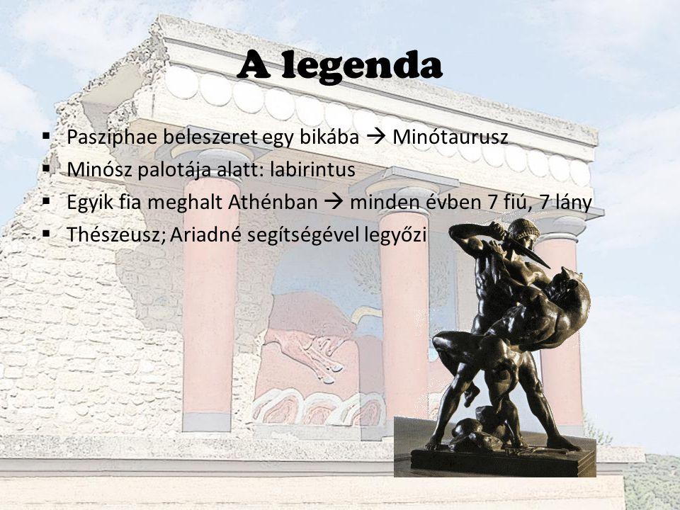 Knósszoszi palota – Minósz király palotája?