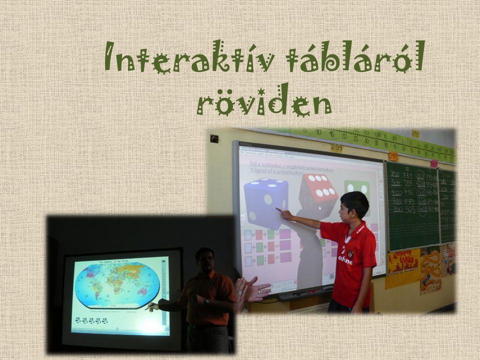 Interaktív tábláról röviden