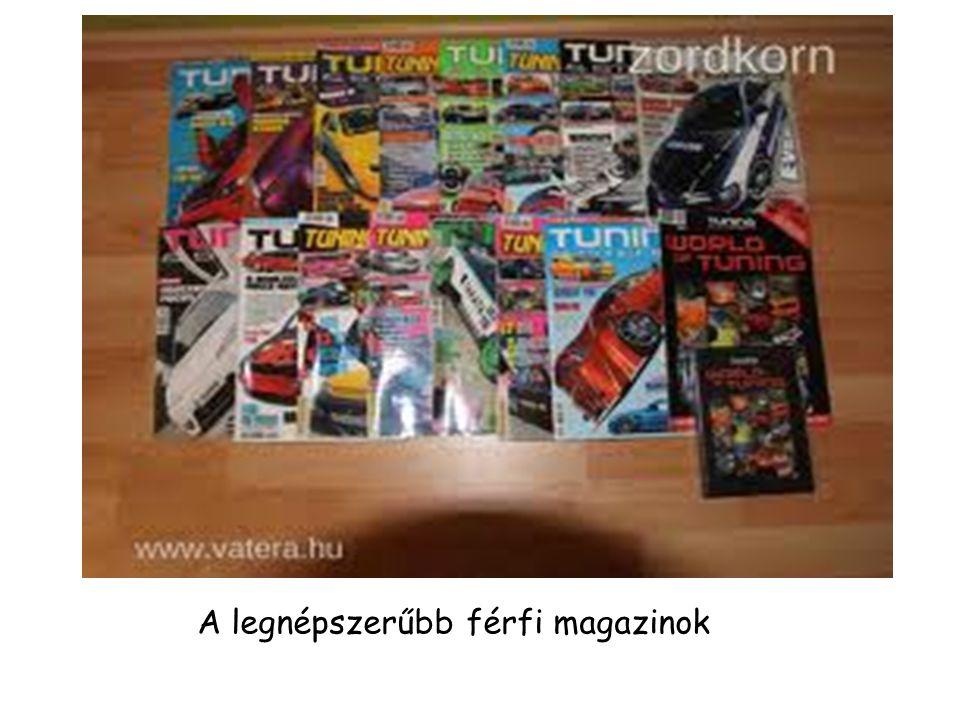 A legnépszerűbb férfi magazinok