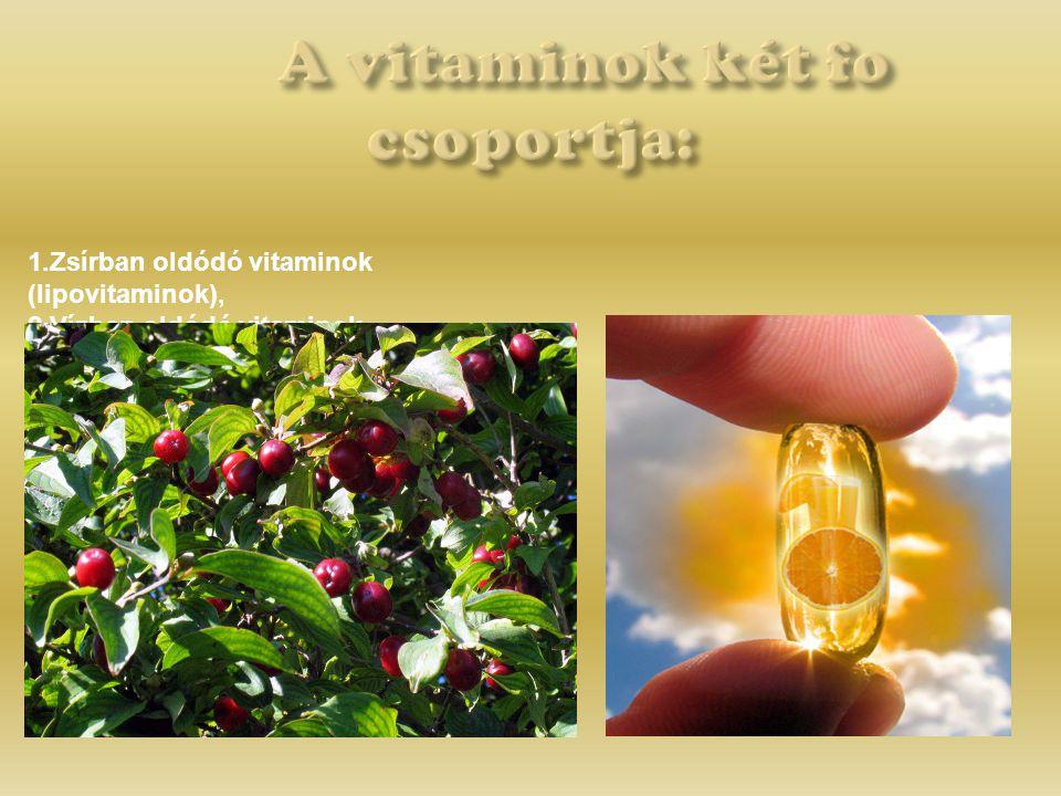 Kiderült egyes vitamin jellegű anyagokról, bár ennek ellenkezőjét gondolhatnánk, hogy más állatfajok számára egyáltalán nem nélkülözhetetlenek.
