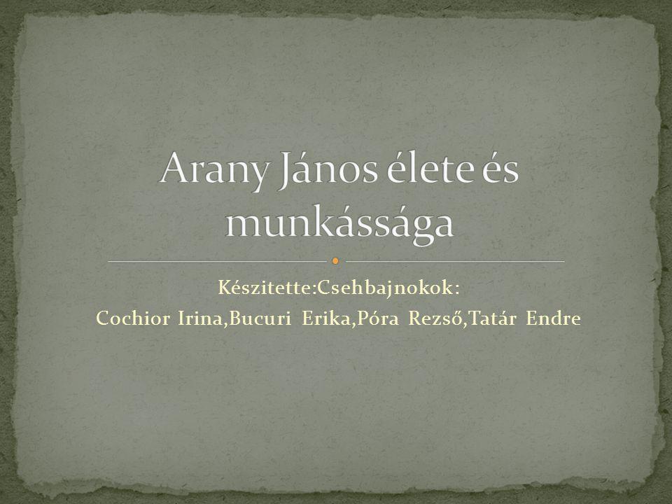Készitette:Csehbajnokok: Cochior Irina,Bucuri Erika,Póra Rezső,Tatár Endre