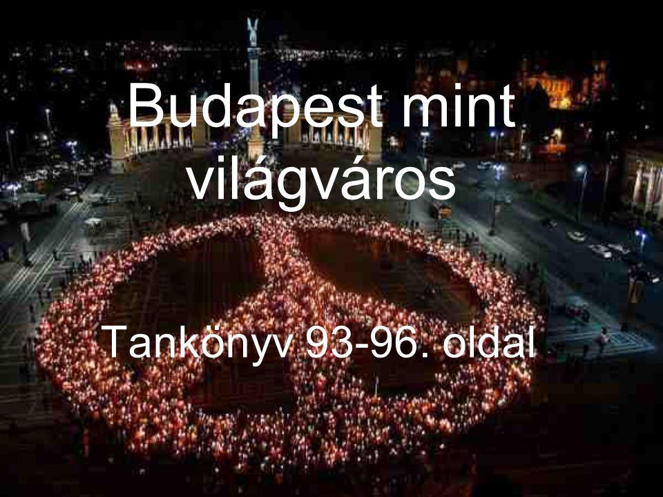 Budapest mint világváros Tankönyv 93-96. oldal