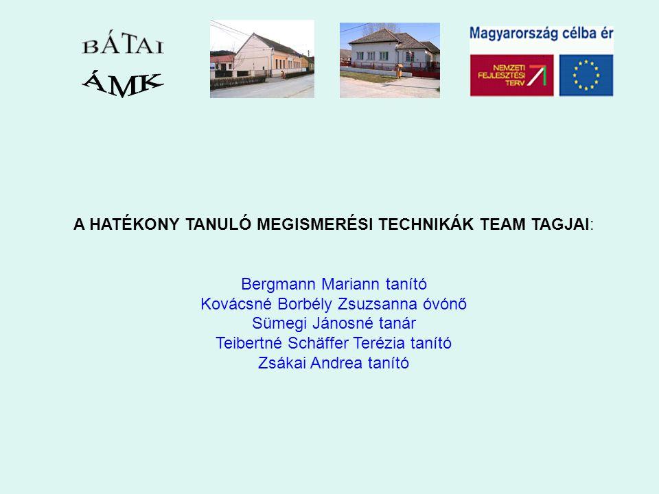 TevékenységFelelősMódszer/eszközIdőDokumentum Team megalakulásaigazgatóegyéni vállalás2006.