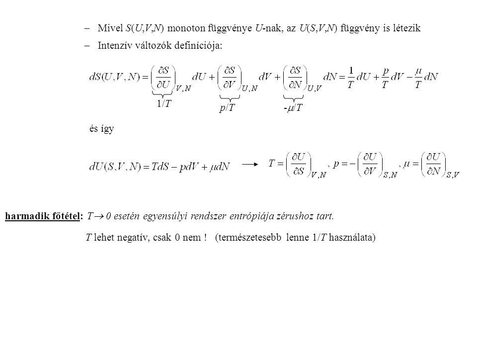 Másodrendű reakciók A + B → C (+ D…) speciális eset: A + A → B (+ C…) X X Y r XX XX Y r XY X X Y r XX r XY X 2 + Y = X + XY r XY Kezdetben r XX = r 0 XX és r XY =  r XX Végül r XX =  és r XY = r 0 XY r 0 XX r 0 XY