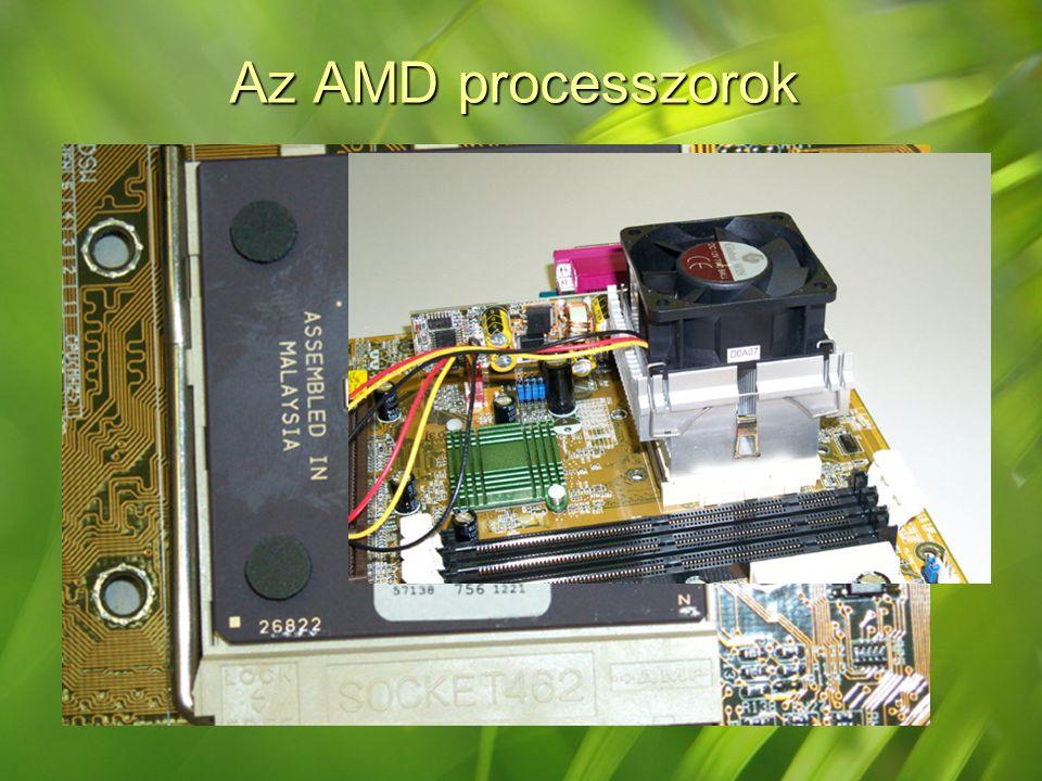 Az AMD processzorok