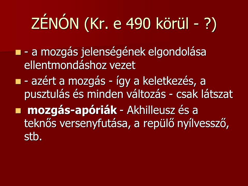 ZÉNÓN (Kr.