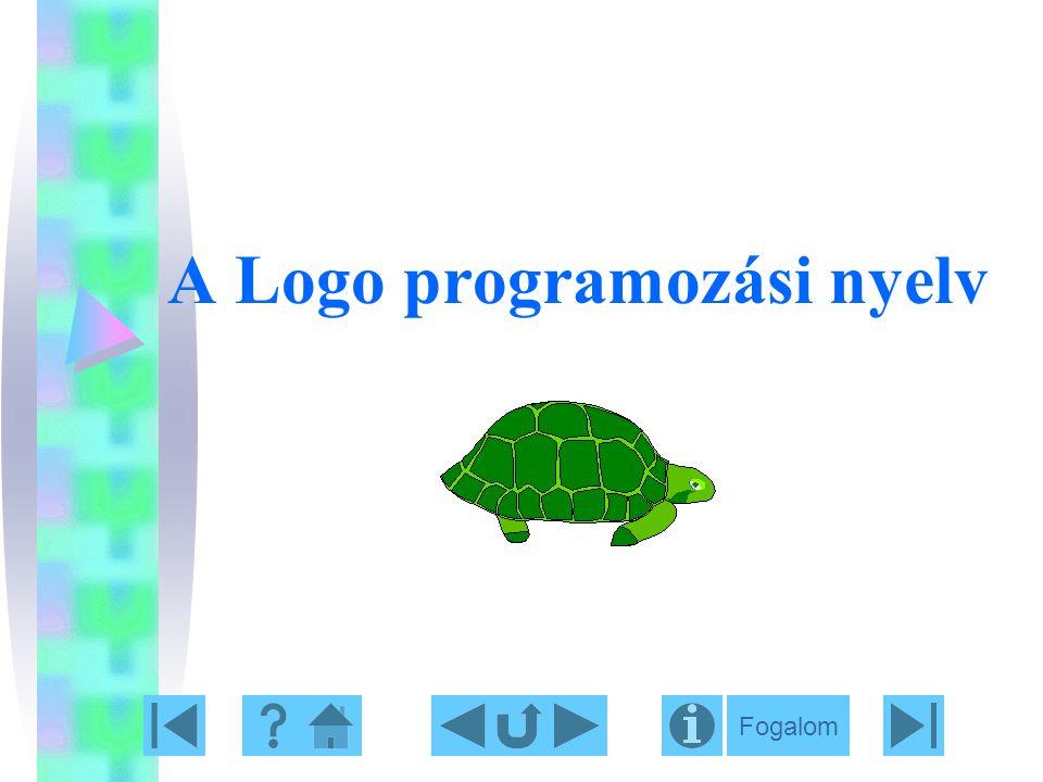 A Logo programozási nyelv Fogalom
