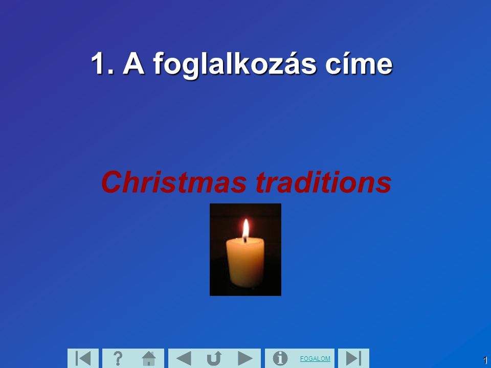 FOGALOM 32 4.2.Why do we give presents.
