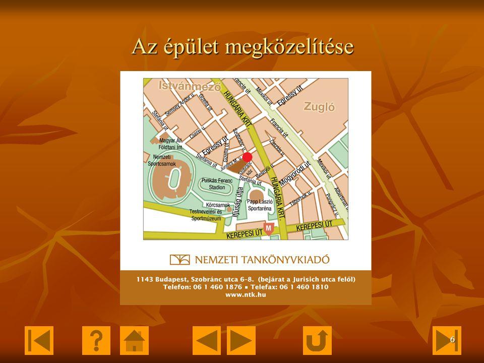 5 Külső megjelenés 1143 Budapest, Szobránc utca 6-8.