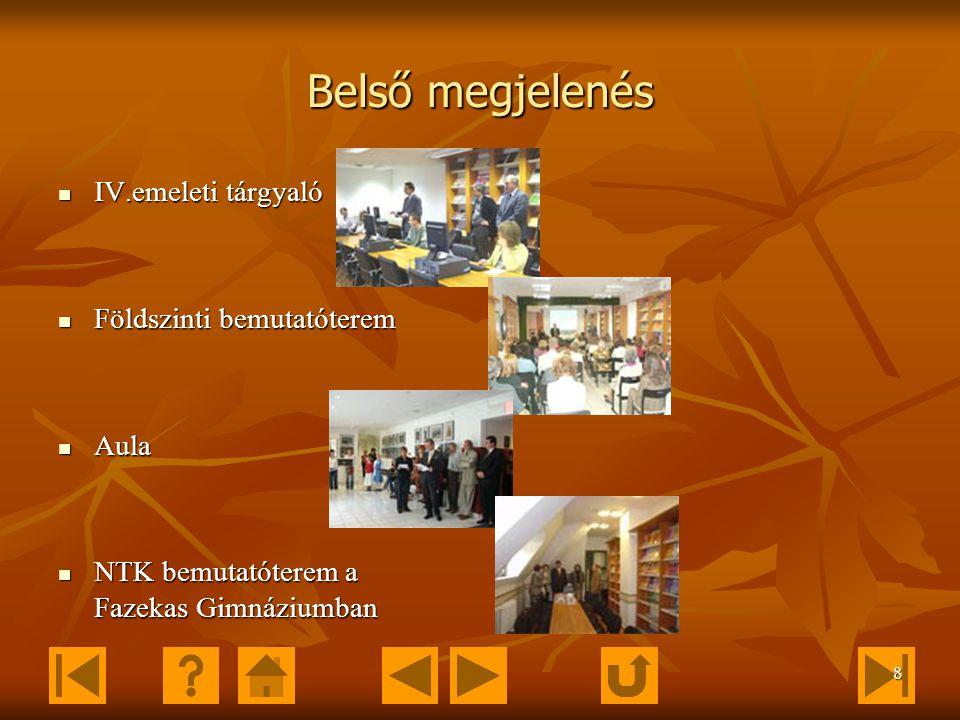 7 Elérhetőségek Vevőszolgálat: Vevőszolgálat vezetője: Barta Károlyné Telefon: 06 (1) 460 1875 E-mail: info@ntk.hu; barta.karolyne@ntk.hu info@ntk.hub