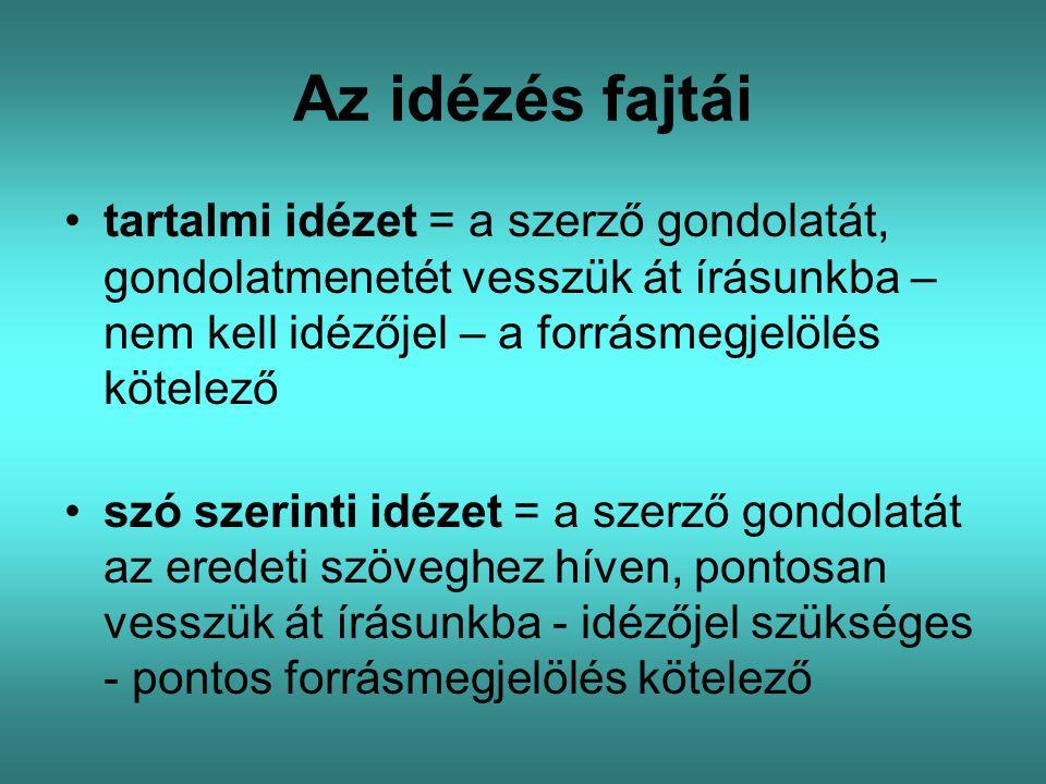 Az átvétel szerzői jogi követelményei – Szjt.
