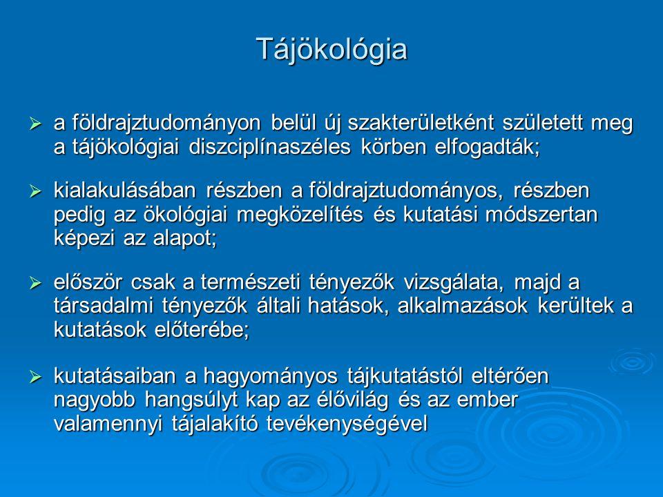 településtípusok  Szakaszai: (modern urbanizáció) 1.