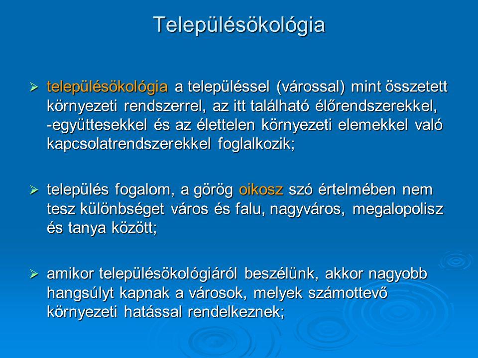 A magyar városhálózat évszázados átrendeződése Süllyedő várostípusok: A középvárosok széles köre,A középvárosok széles köre, a trianoni határszélre került központok,a trianoni határszélre került központok, a városi szerepüket vesztett járási székhelyek, kisvárosok.a városi szerepüket vesztett járási székhelyek, kisvárosok.