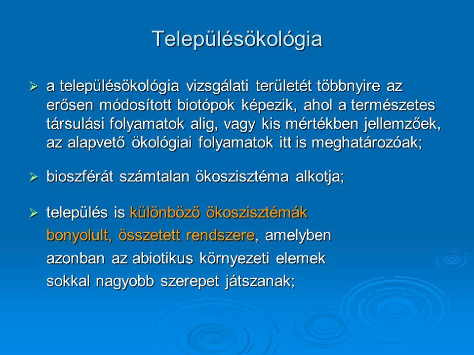 településtípusok Tanya: magányos település, ahol a lakó és munkahelye egy helyen található.