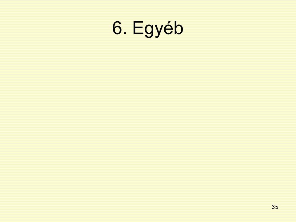 35 6. Egyéb