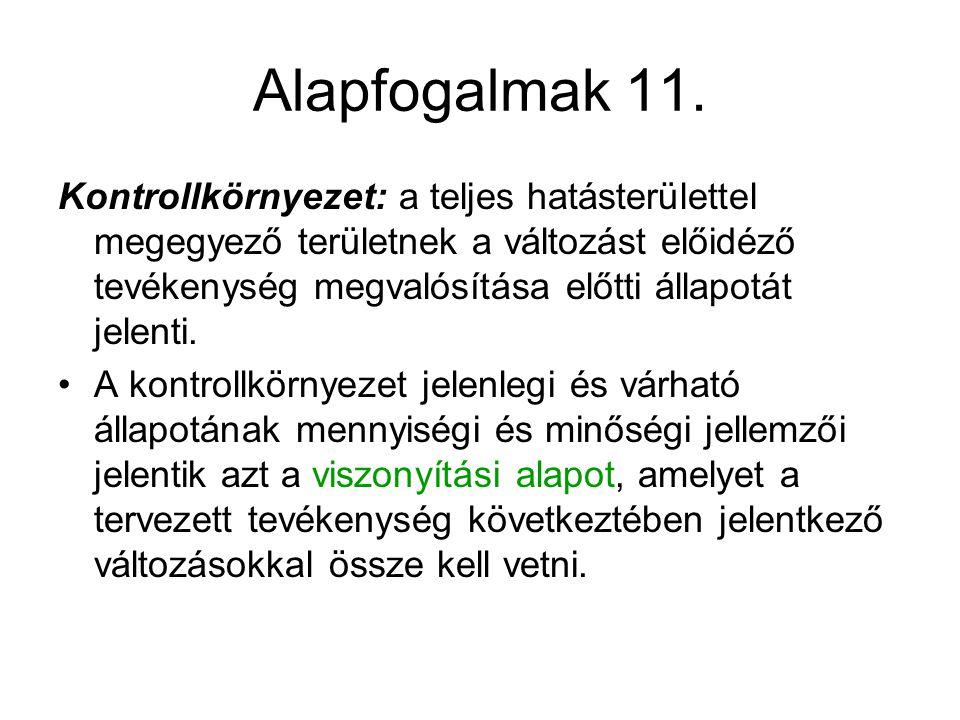 Alapfogalmak 11.