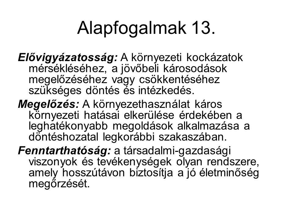 Alapfogalmak 13.