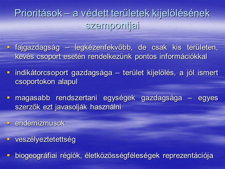 Természetvédelmi törzskönyv  A természetvédelmi törzskönyv a védett természeti értékek hivatalos nyilvántartására szolgál országos természetvédelmi- és országos természetvédelmi- és helyi természetvédelmi törzskönyv helyi természetvédelmi törzskönyv  A természetvédelmi törzskönyv tartalmazza: a védett érték törzskönyvi számát, pl.: 64/TT/57 a védetté nyilvánító határozat számát a védetté nyilvánító határozat számát a védett természeti értéket: nevét, helyét (megye, község) a védett természeti értéket: nevét, helyét (megye, község) a törzskönyvről további ismereteket lásd a jegyzetben.