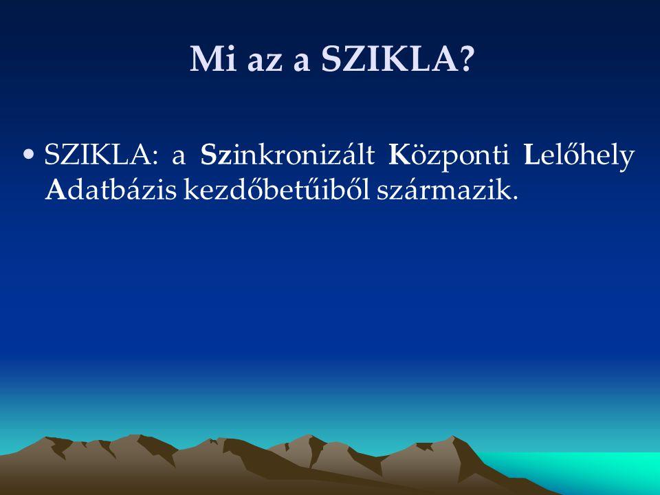 Az átemelés forrásadatbázisai Az OSZK Magyar Nemzeti Bibliográfia adatbázisa (MNB 1976-tól napjainkig) KELLÓ Új Könyvek adatbázis (2007.