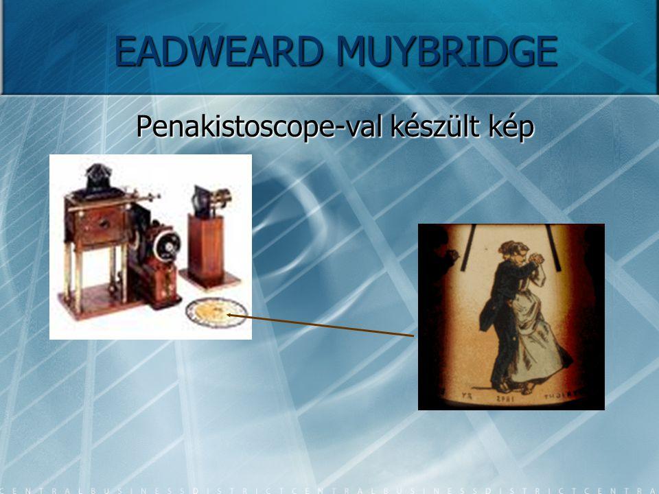 EADWEARD MUYBRIDGE Penakistoscope-val készült kép