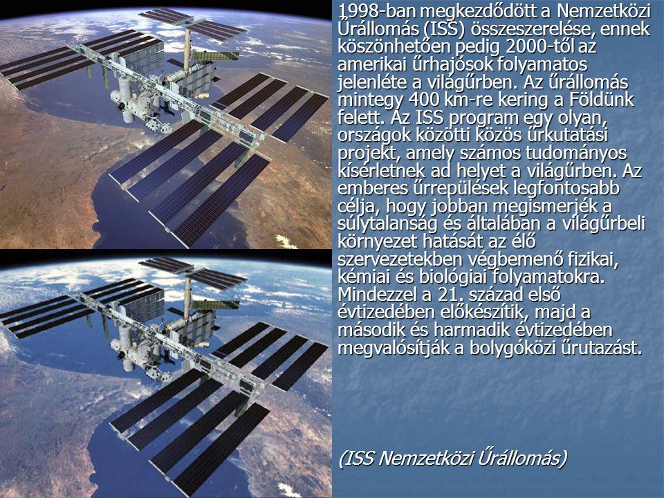 1998-ban megkezdődött a Nemzetközi Űrállomás (ISS) összeszerelése, ennek köszönhetően pedig 2000-től az amerikai űrhajósok folyamatos jelenléte a világűrben.