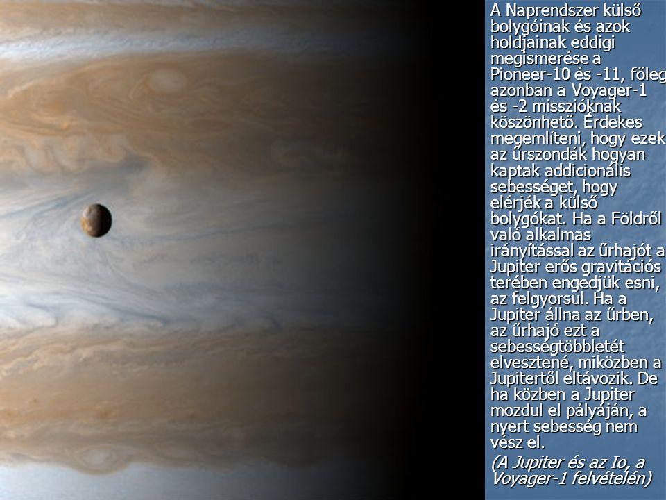 A Naprendszer külső bolygóinak és azok holdjainak eddigi megismerése a Pioneer-10 és -11, főleg azonban a Voyager-1 és -2 misszióknak köszönhető.