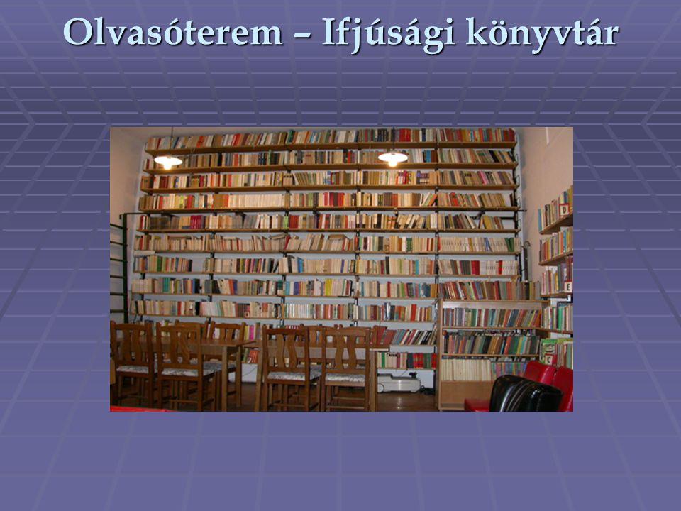 Olvasóterem – Ifjúsági könyvtár