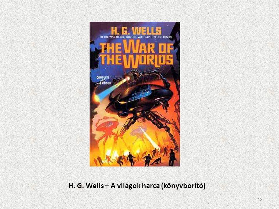 H. G. Wells – A világok harca (könyvborító) 18
