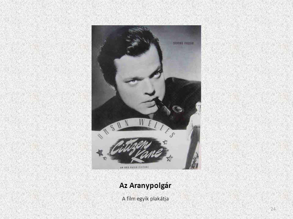 Az Aranypolgár A film egyik plakátja 24