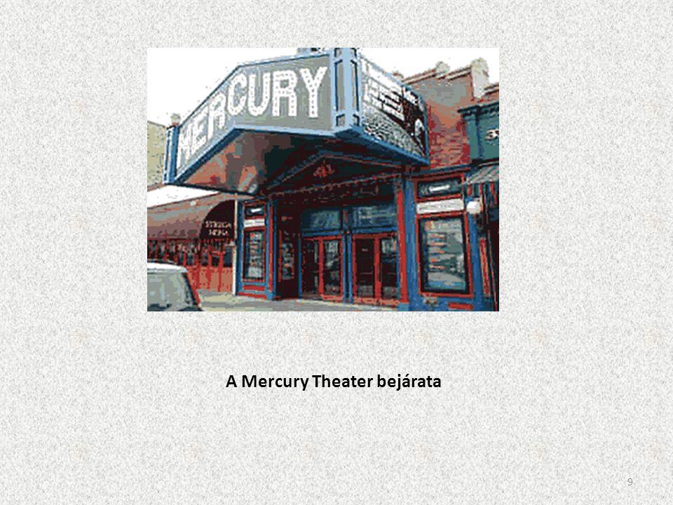 A Mercury Theater bejárata 9