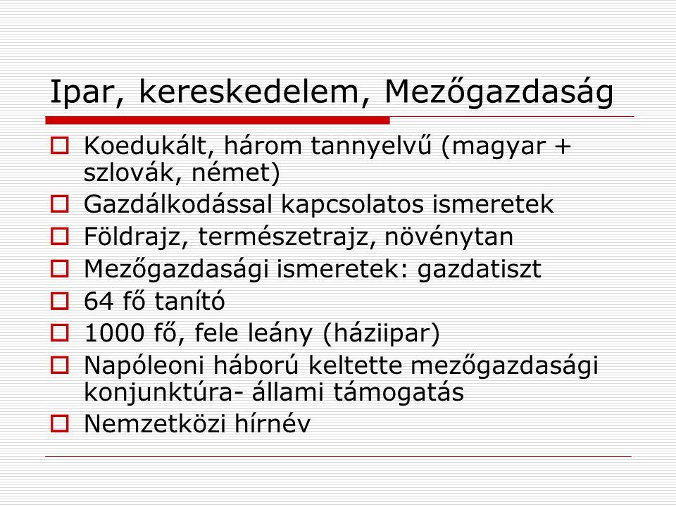 Tanítóképzés  Normaiskolai  1818, Pyrker Szepeskáptalan  1828, Pyrker I.