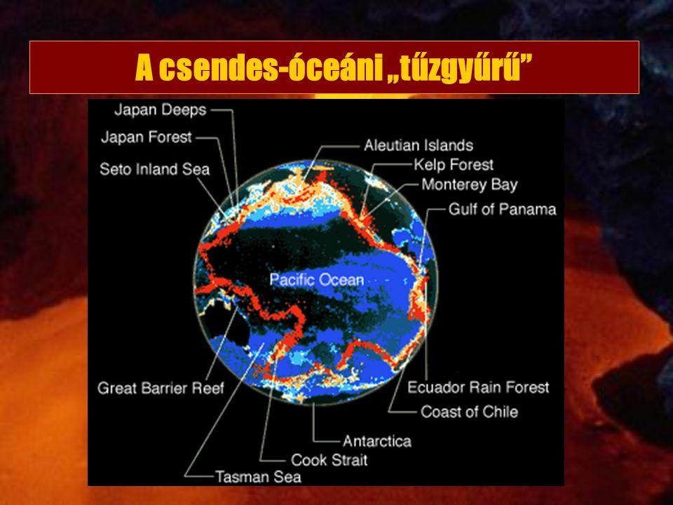 """A csendes-óceáni """"tűzgyűrű"""""""