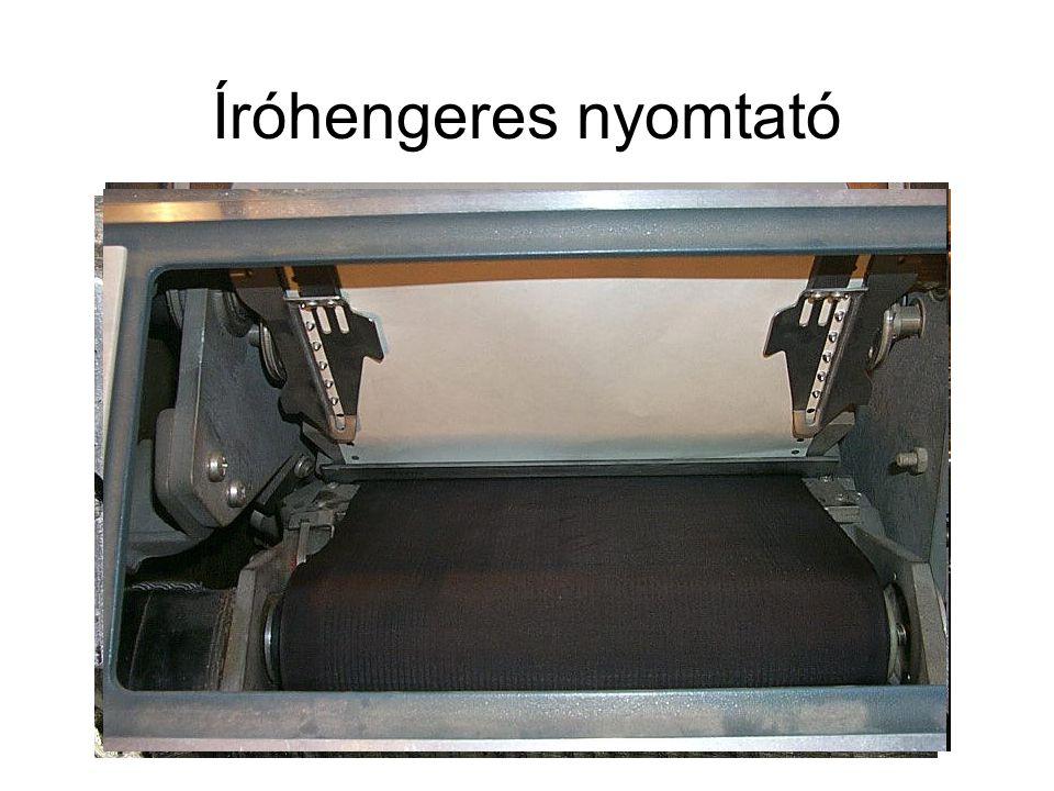Íróhengeres nyomtató