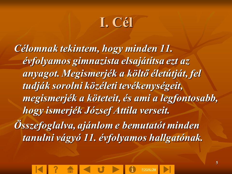 FOGALOM 46 5. Értékelés 5. Önellenőrző kérdések