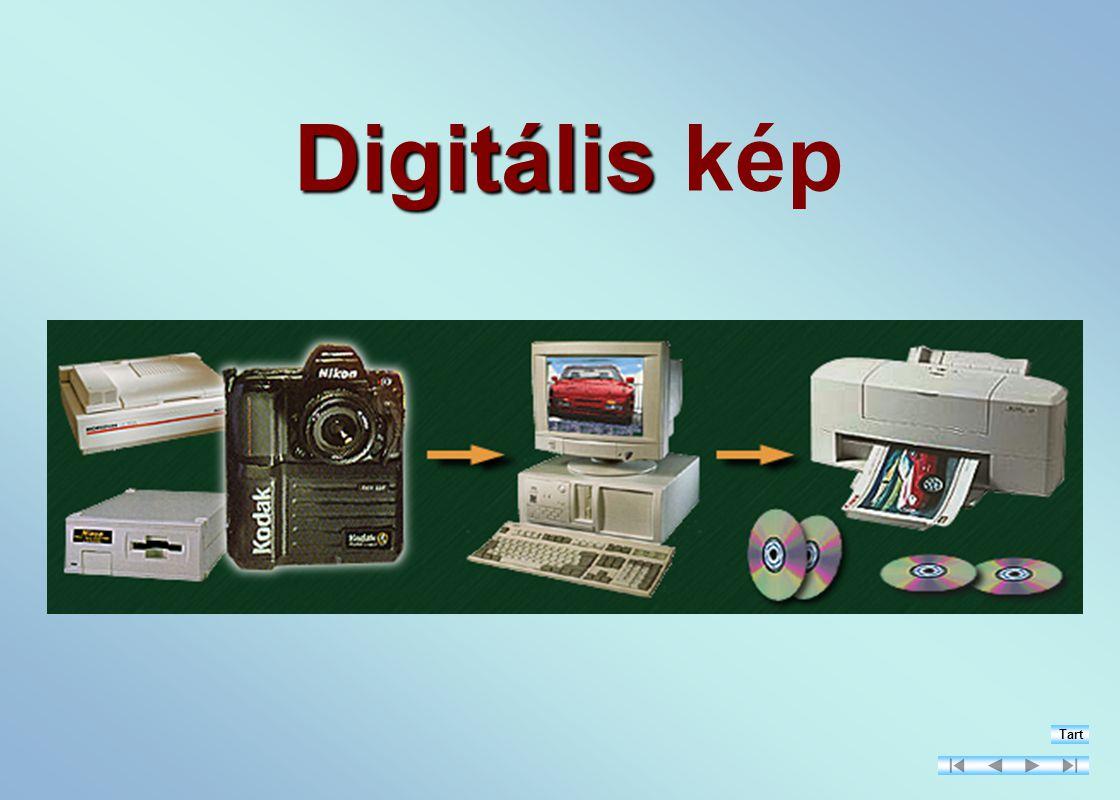 Digitális Digitális kép Tart
