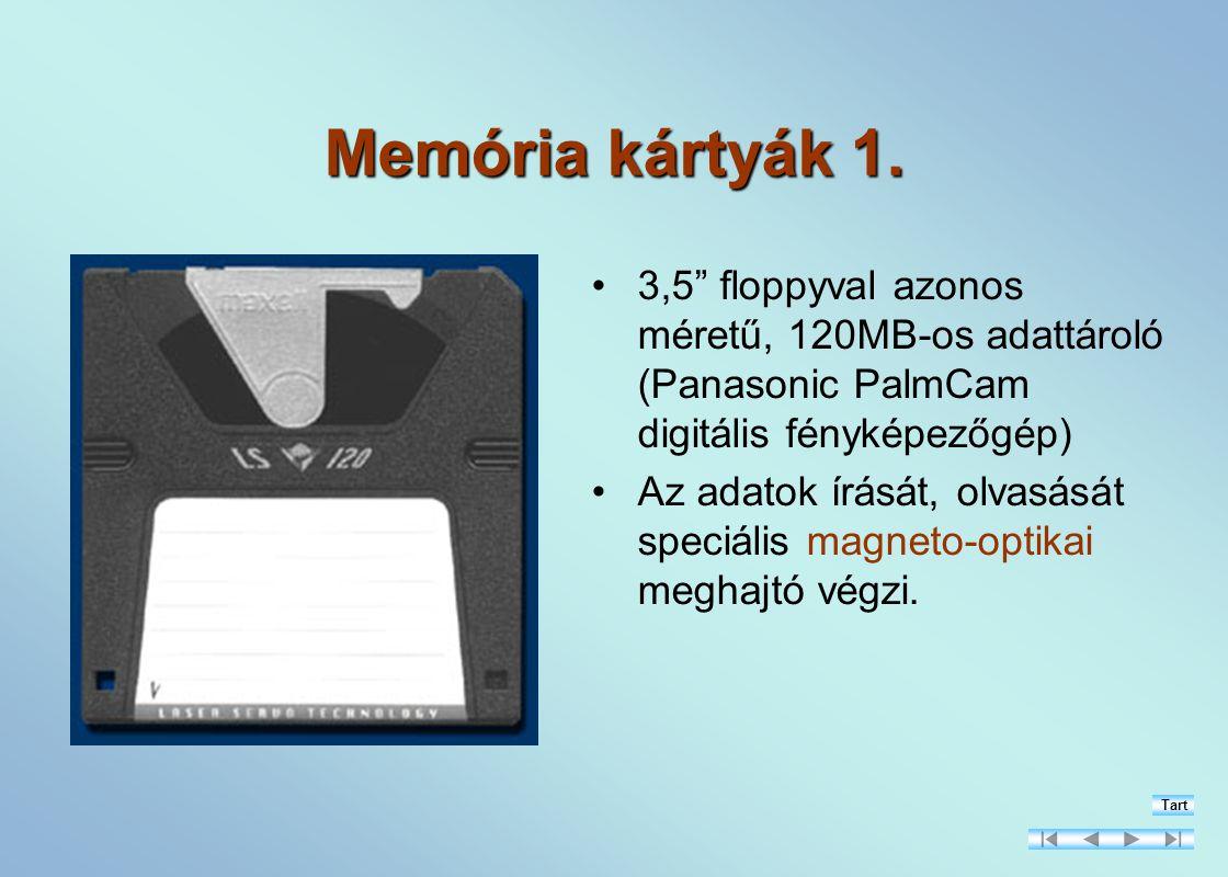 Memória kártyák 1.