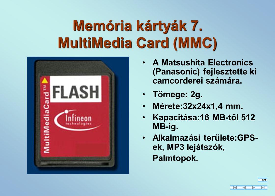 Memória kártyák 7.