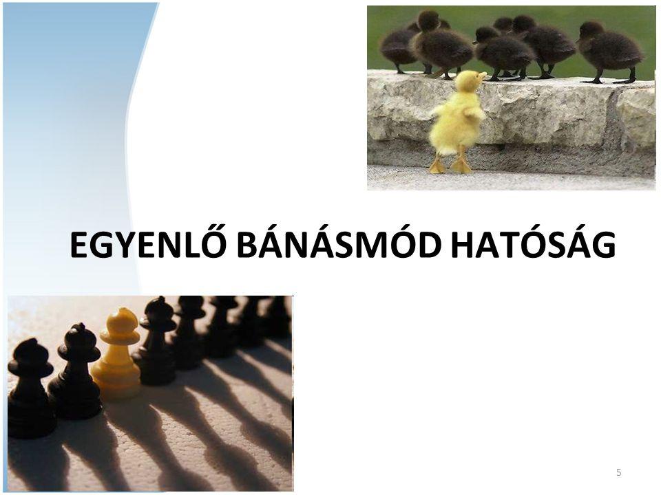 07/11/09 5 EGYENLŐ BÁNÁSMÓD HATÓSÁG