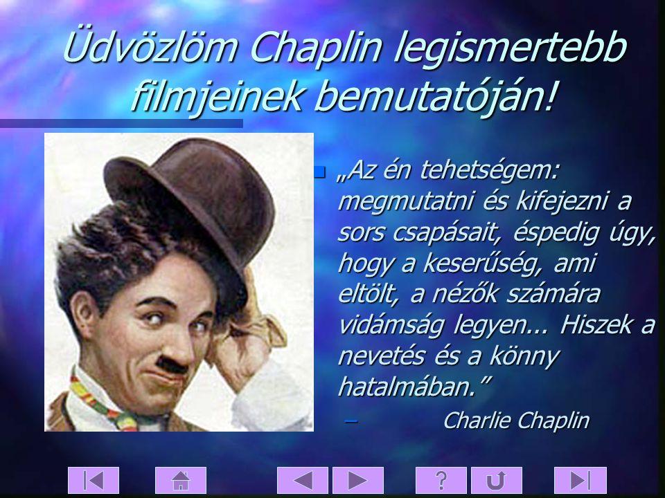 Charlie Chaplin Legjelentősebb filmalkotásai