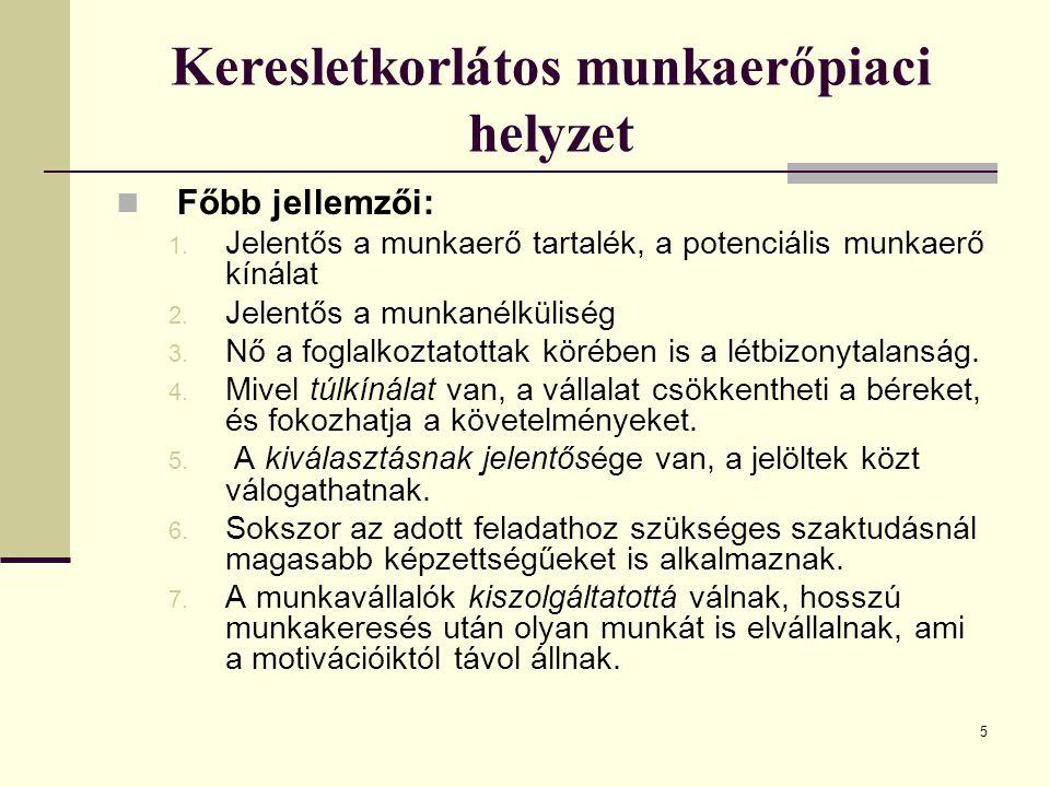 16 A toborzás külső módszerei 3.6. Személyzeti/kiválasztási tanácsadók.