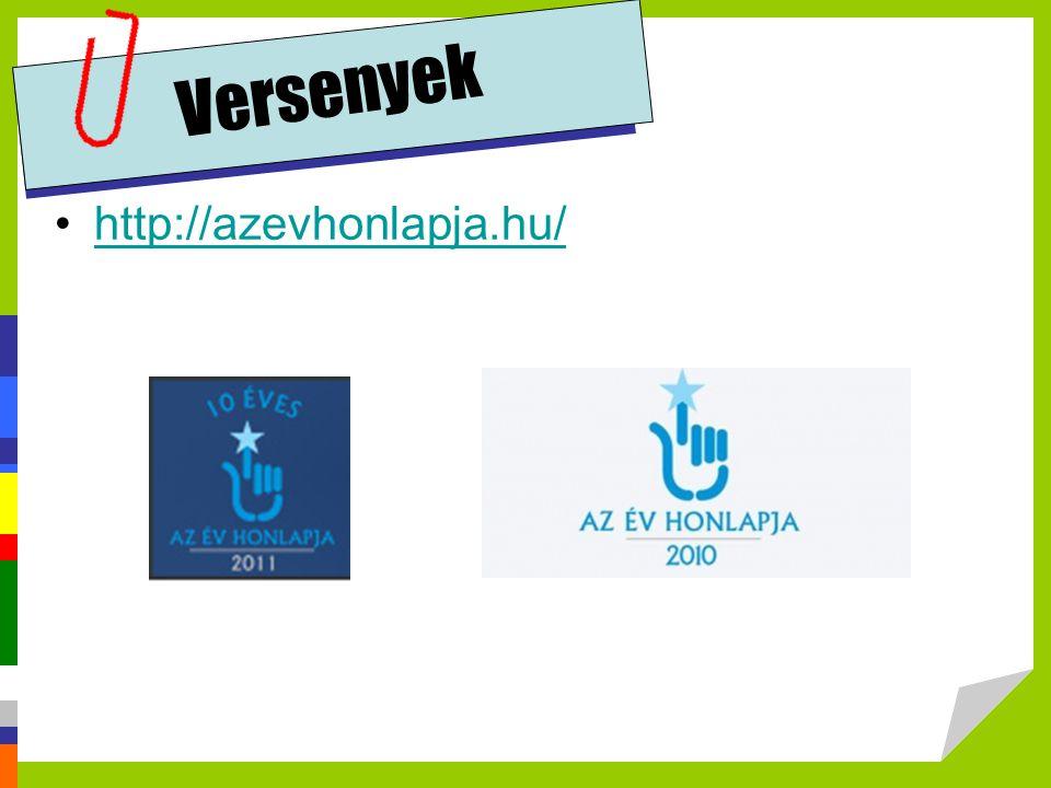 Versenyek http://azevhonlapja.hu/