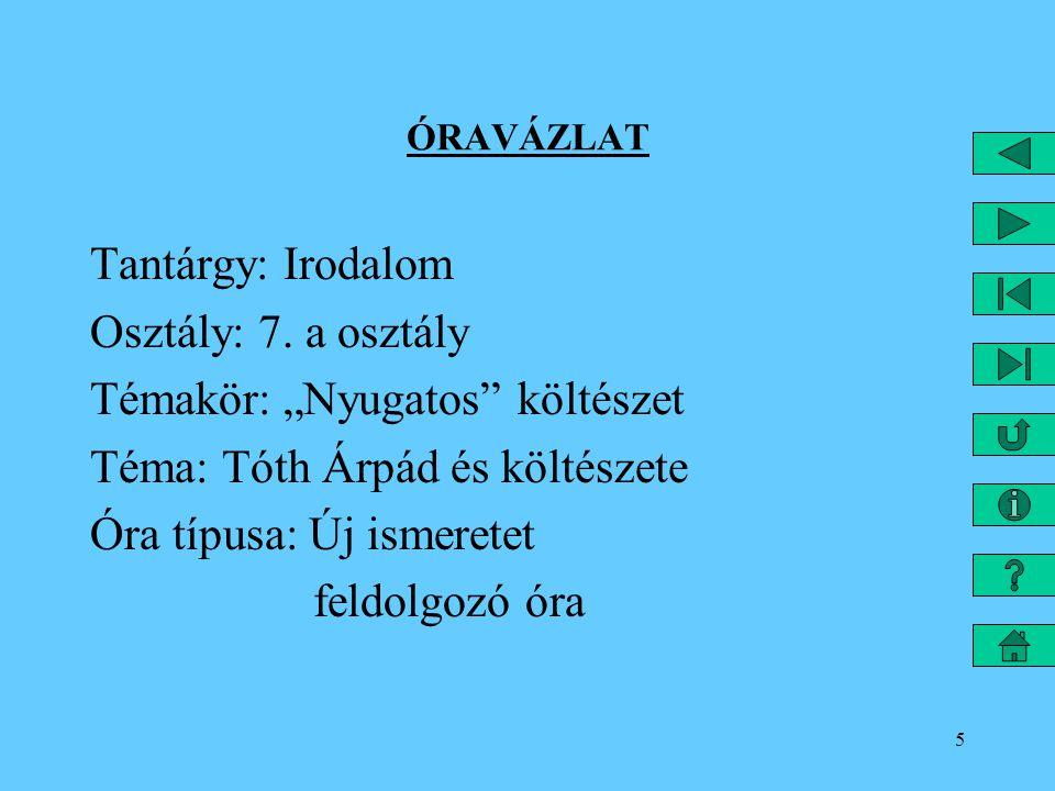 16 III.6 Folyóiratok, melyeknél dolgozott: 1907. - A HÉT - VASÁRNAPI ÚJSÁG 1908.