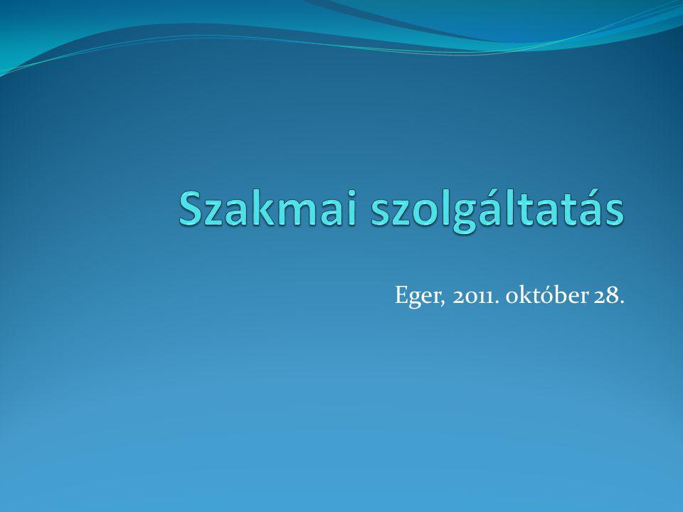 Eger, 2011. október 28.