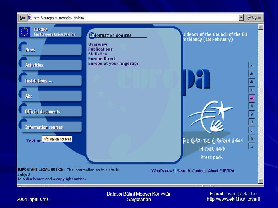 2004. április 19.