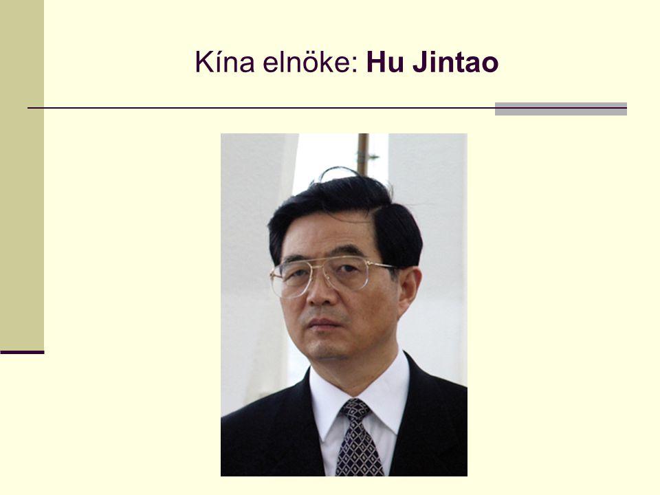 Kína elnöke: Hu Jintao