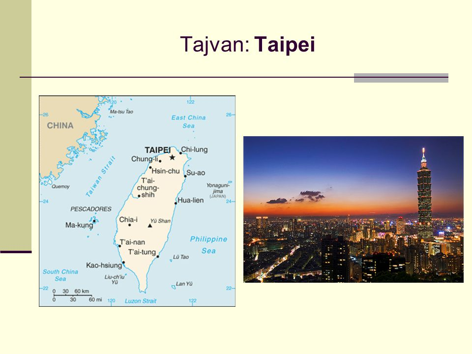 Tajvan: Taipei