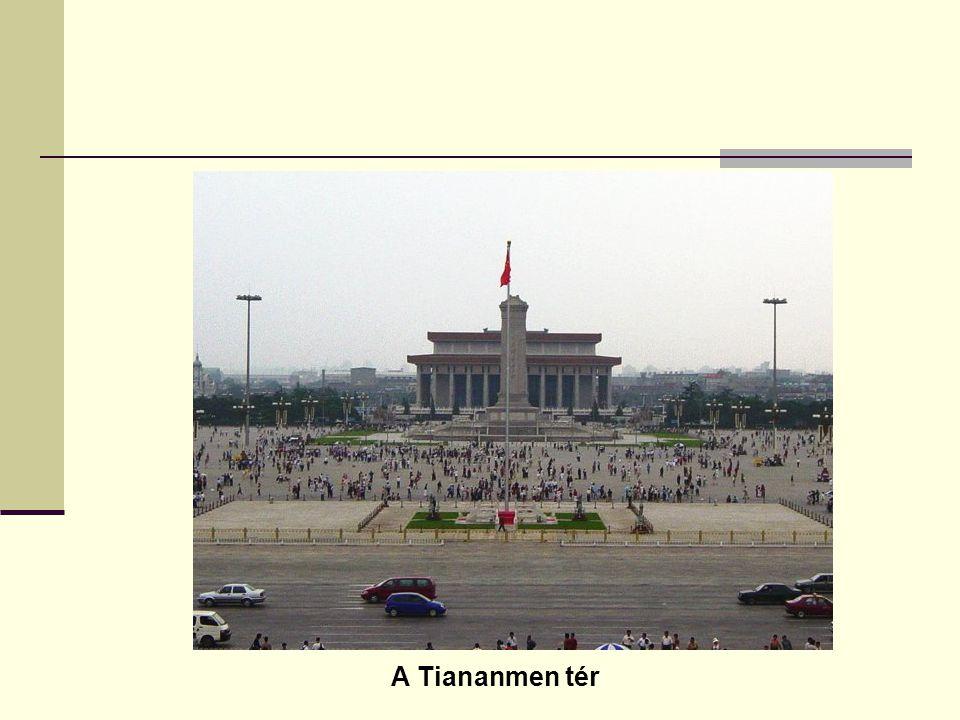 A Tiananmen tér