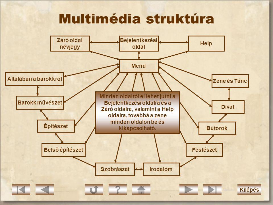 Médiaanalízis II. Szint/ Médium Almenük: 1,2,3,4,5,6,7,8,9,10 Záró oldal Névjegy Irodalmi szöveg  Book Antiqua 10 félkövérnincs Főcím lent középen Bo
