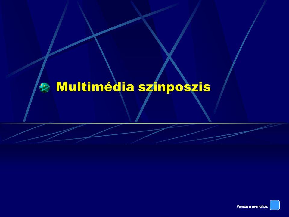 Vissza a menühöz Multimédia szinposzis