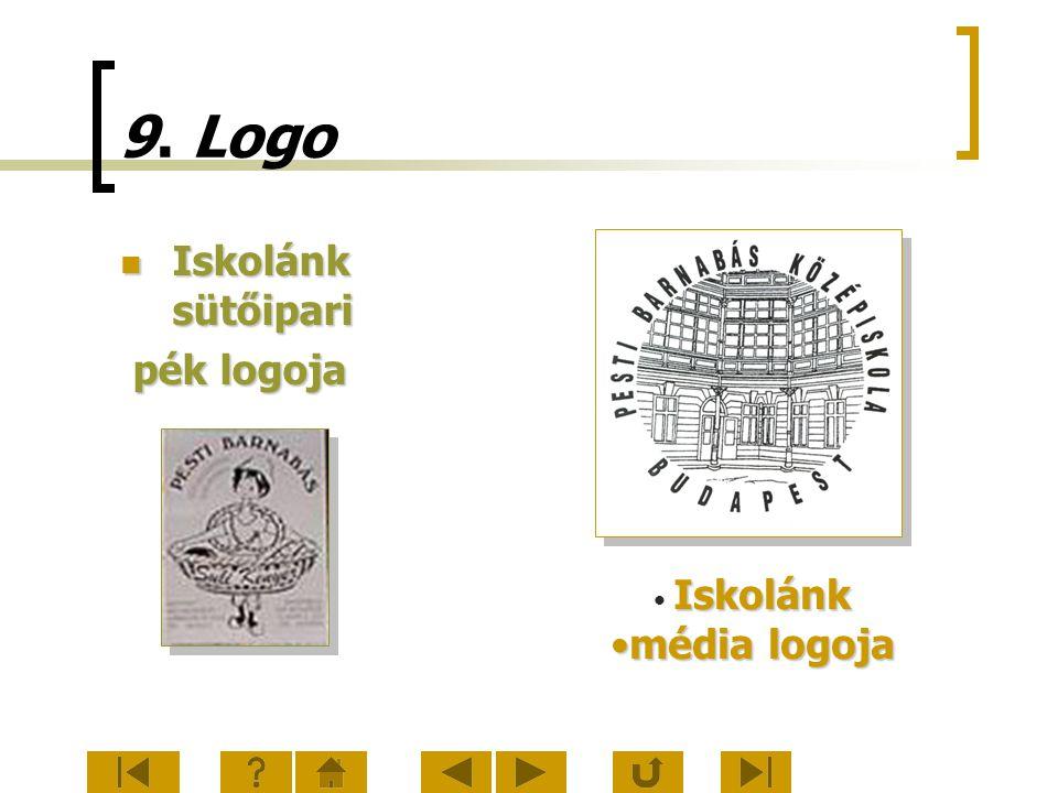 9. Logo Iskolánk sütőipari Iskolánk sütőipari pék logoja pék logoja Iskolánk média logojamédia logoja